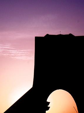 برج ومیدان آزادی تهران