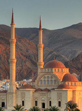 مسجد زیبای سلطان قابوس در مسقط