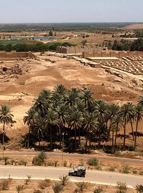 شهر باستانی بابل بصره