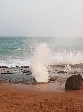 موج فشان چابهار
