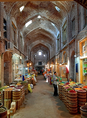 بازار صادقیه تبریز