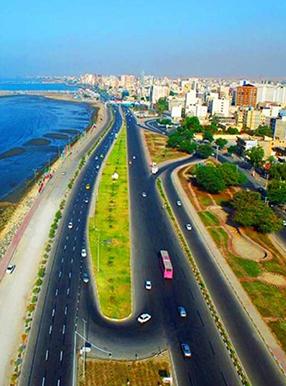 خیابان ساحلی بندرعباس