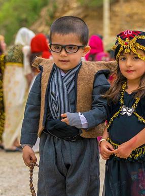 پوشش مردم کرمانشاه